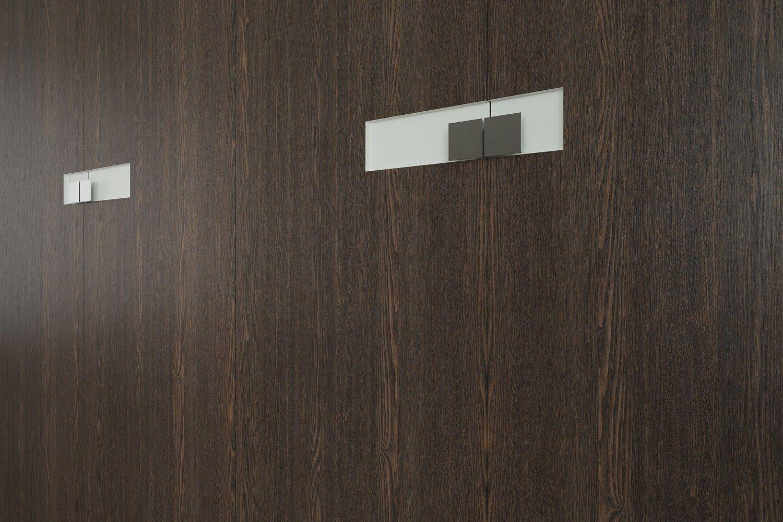 Rivestimento per mobili autoadesivo in PVC effetto legno WENGE SCURO ...