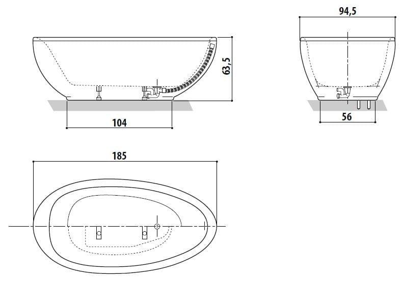 Dimensions Of Jacuzzi Bathtub Bathtub Ideas