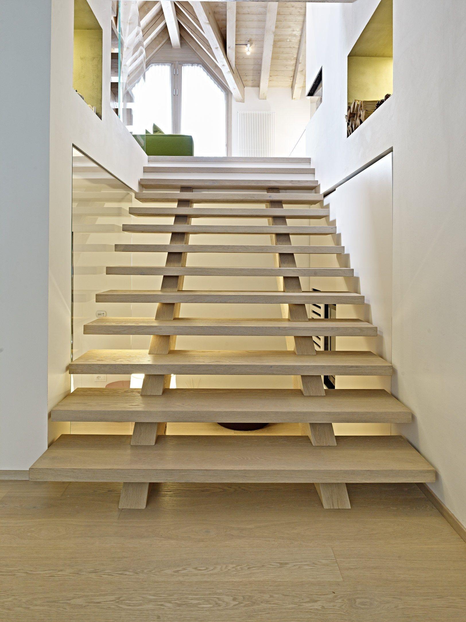 Disegnodilegno open staircase by fiemme 3000 - Scale di casa ...