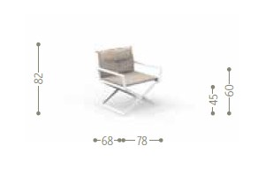 Dimensions DOMINO | Chair
