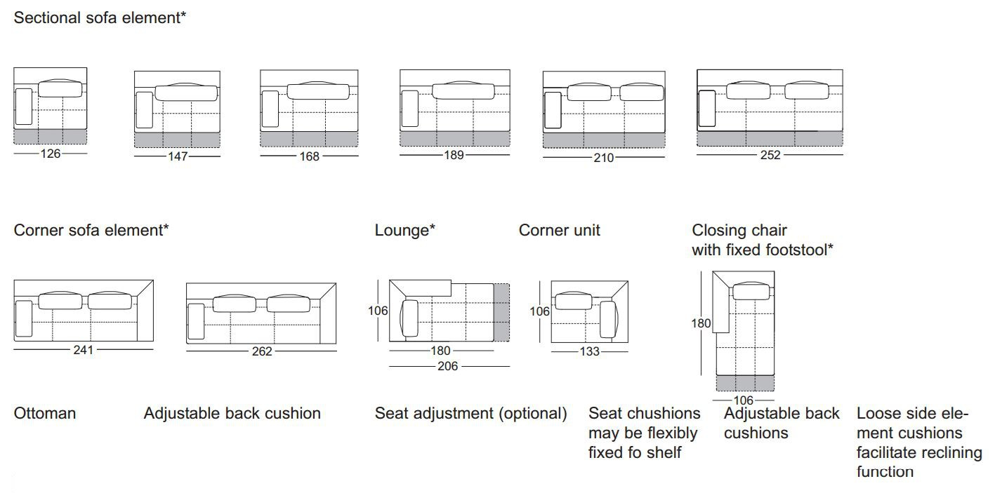 Rolf Dono corner leather sofa dono corner sofa by rolf design christian