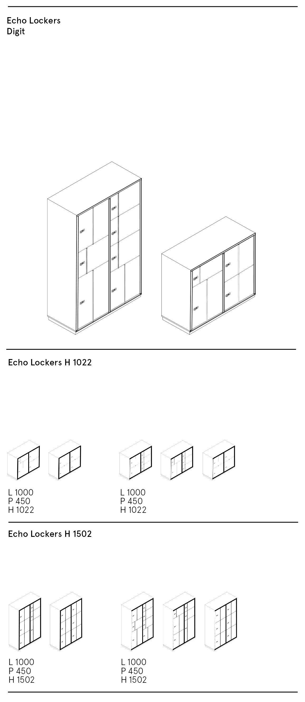 ECHO LOCKERS - Digit