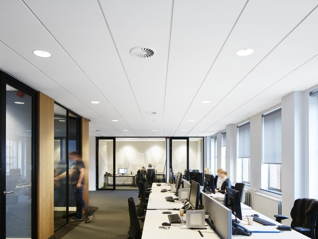 Acoustic glass wool ceiling tiles ecophon focus ds by saint acoustic glass wool ceiling tiles ecophon focus ds by saint gobain ecophon dailygadgetfo Images