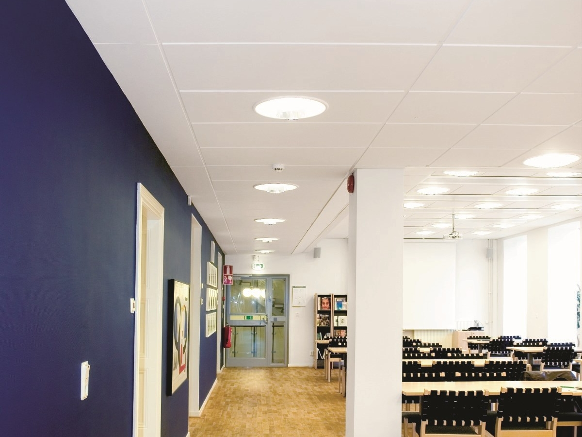 Sound absorbing ceiling tiles illuminated level change by saint sound absorbing ceiling tiles illuminated level change by saint gobain ecophon dailygadgetfo Images