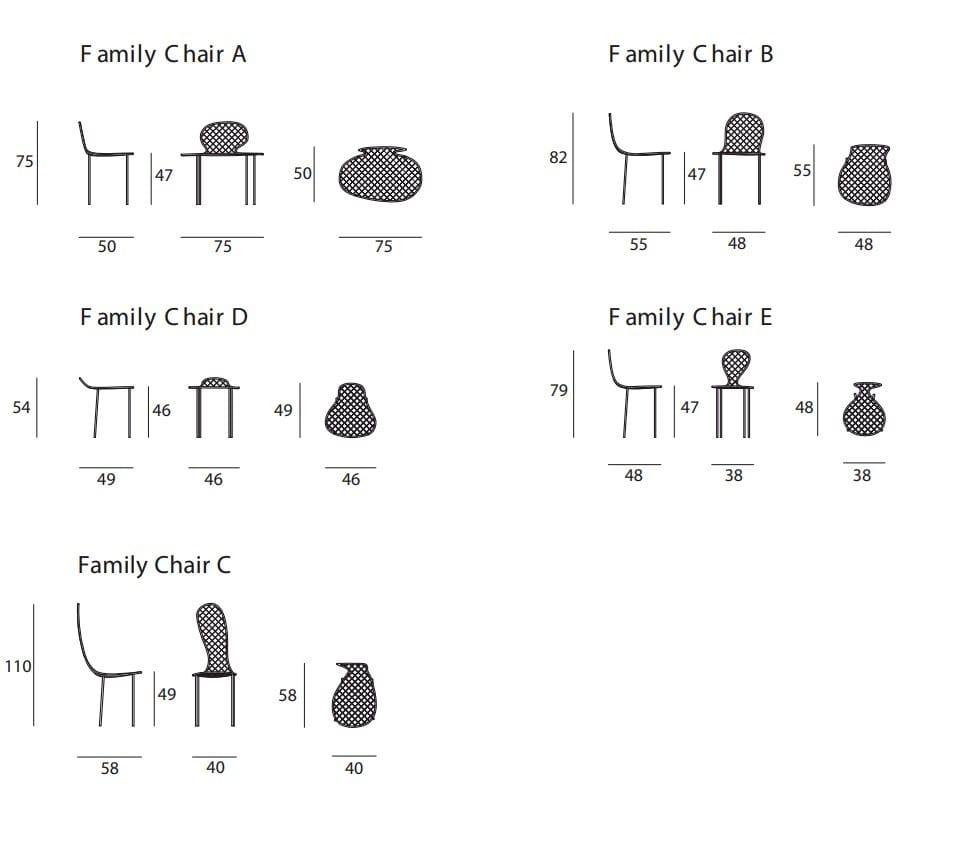 Posizione Divano E Tv wire mesh chair family chair by living divani design junya