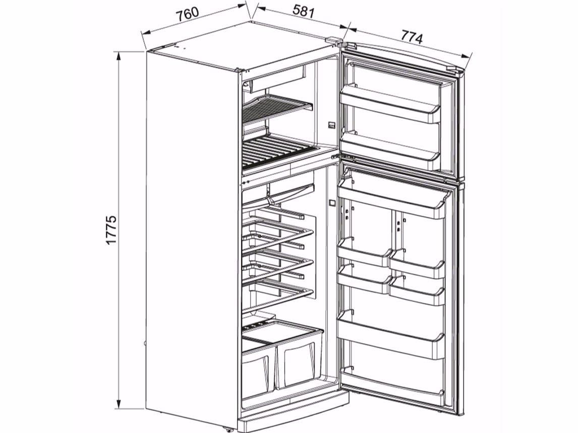 Emejing frigorifero smeg dimensioni pictures ameripest - Congelatore piccole dimensioni ...
