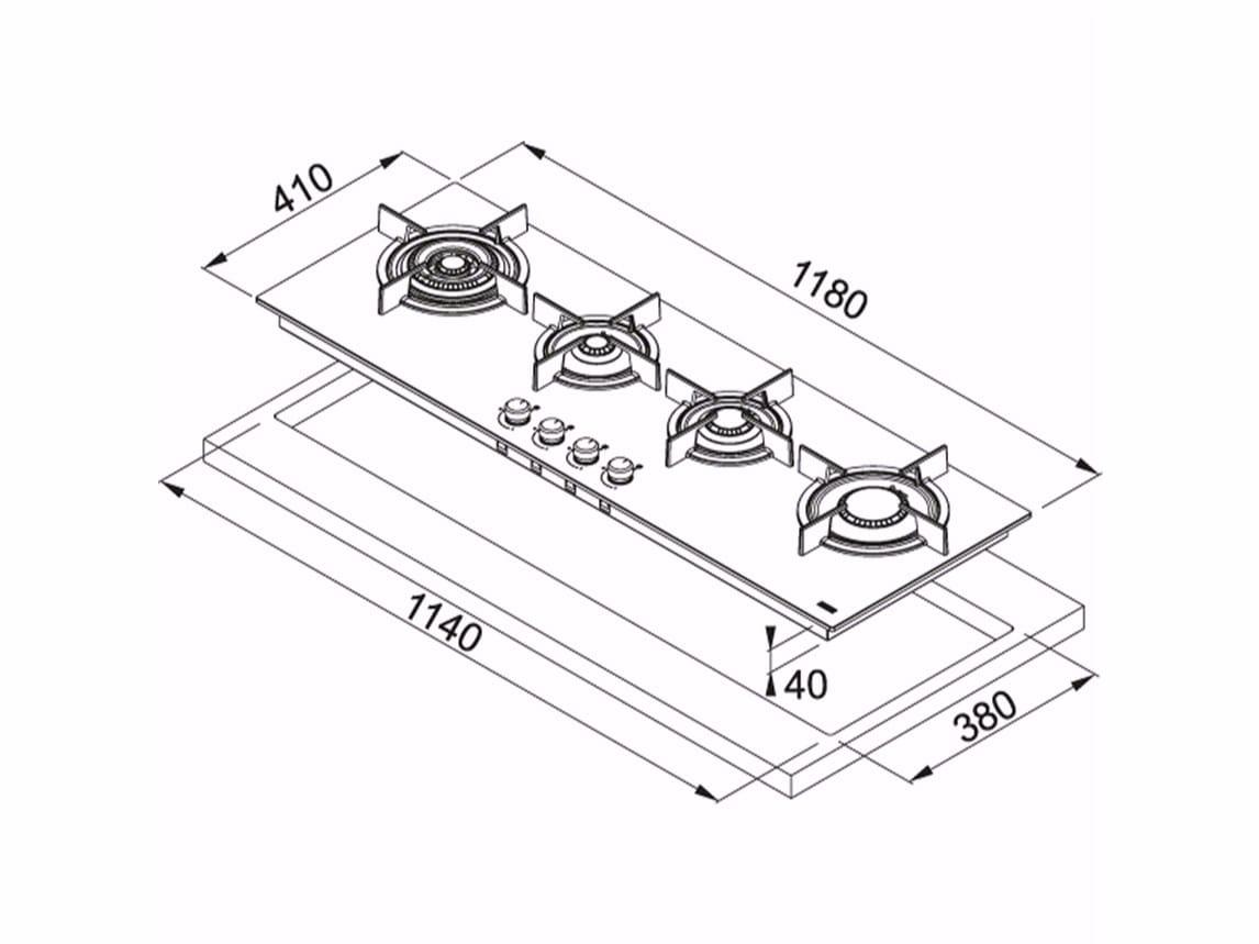 Piano Cottura Dimensioni – Idee immagine mobili