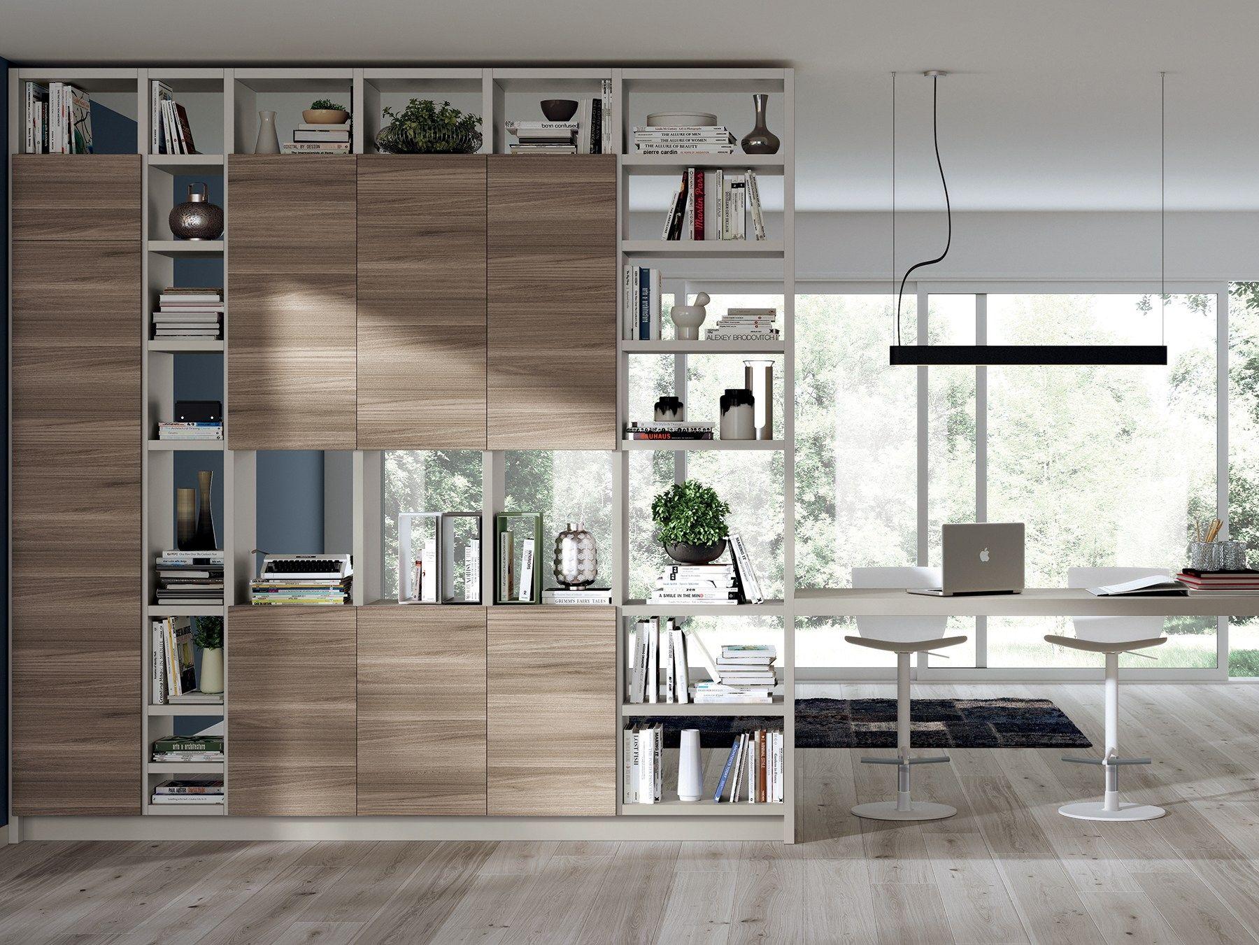 Fluida modulo cucina indipendente linea soggiorni for Scavolini pareti attrezzate