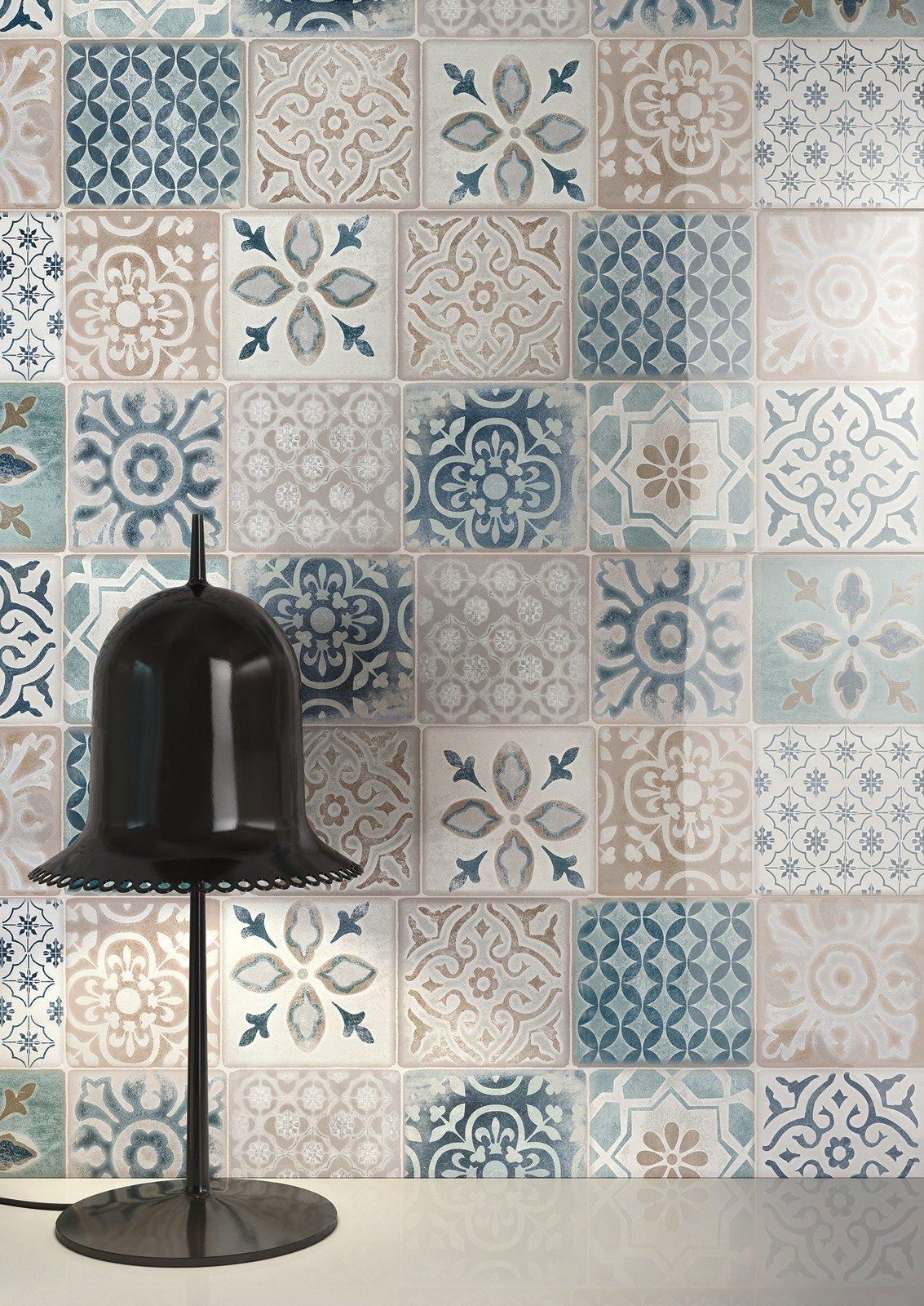 White Paste Wall Tiles Frame By Ragno
