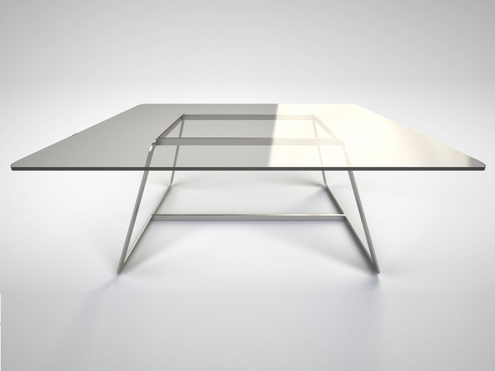 square float glass table tour by fontanaarte design gae aulenti