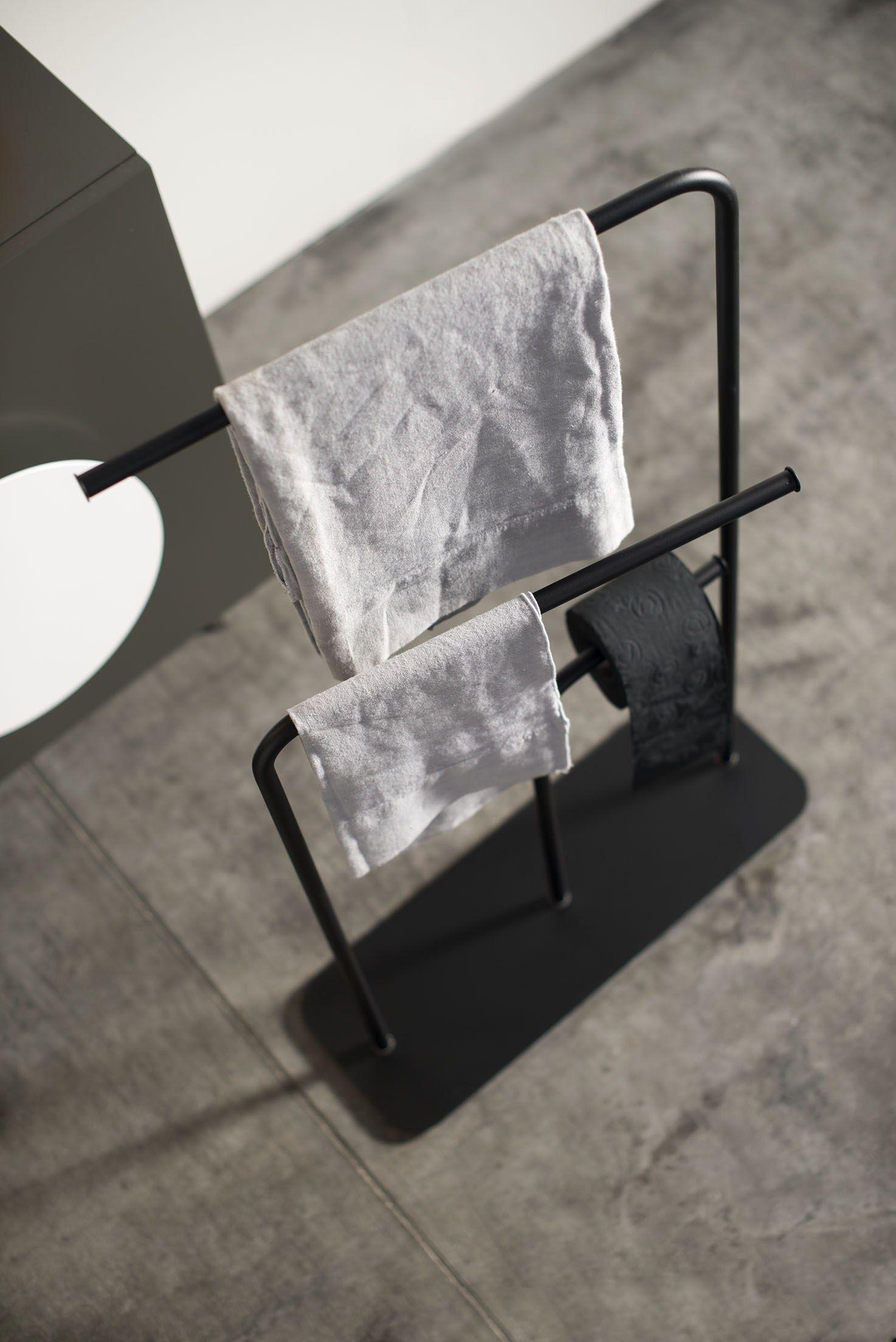 handtuchhalter aus pulverbeschichtetem stahl gru by ex.t design, Badezimmer ideen