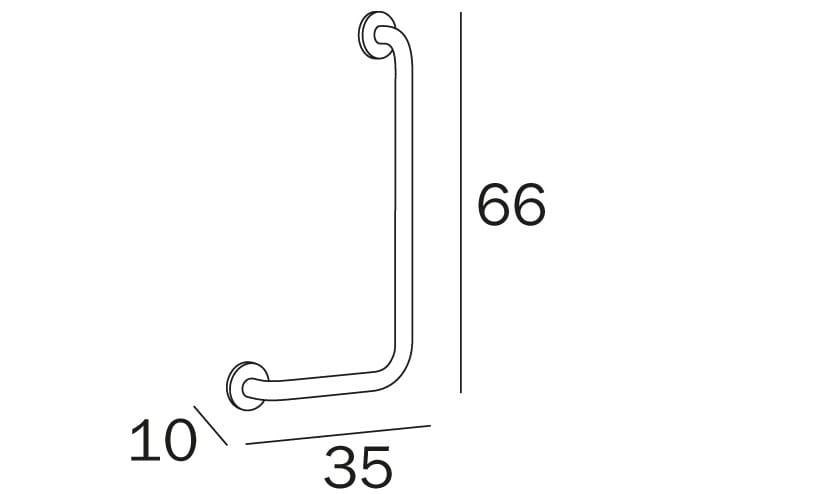 L Shaped Grab Bars - Nanatran.com