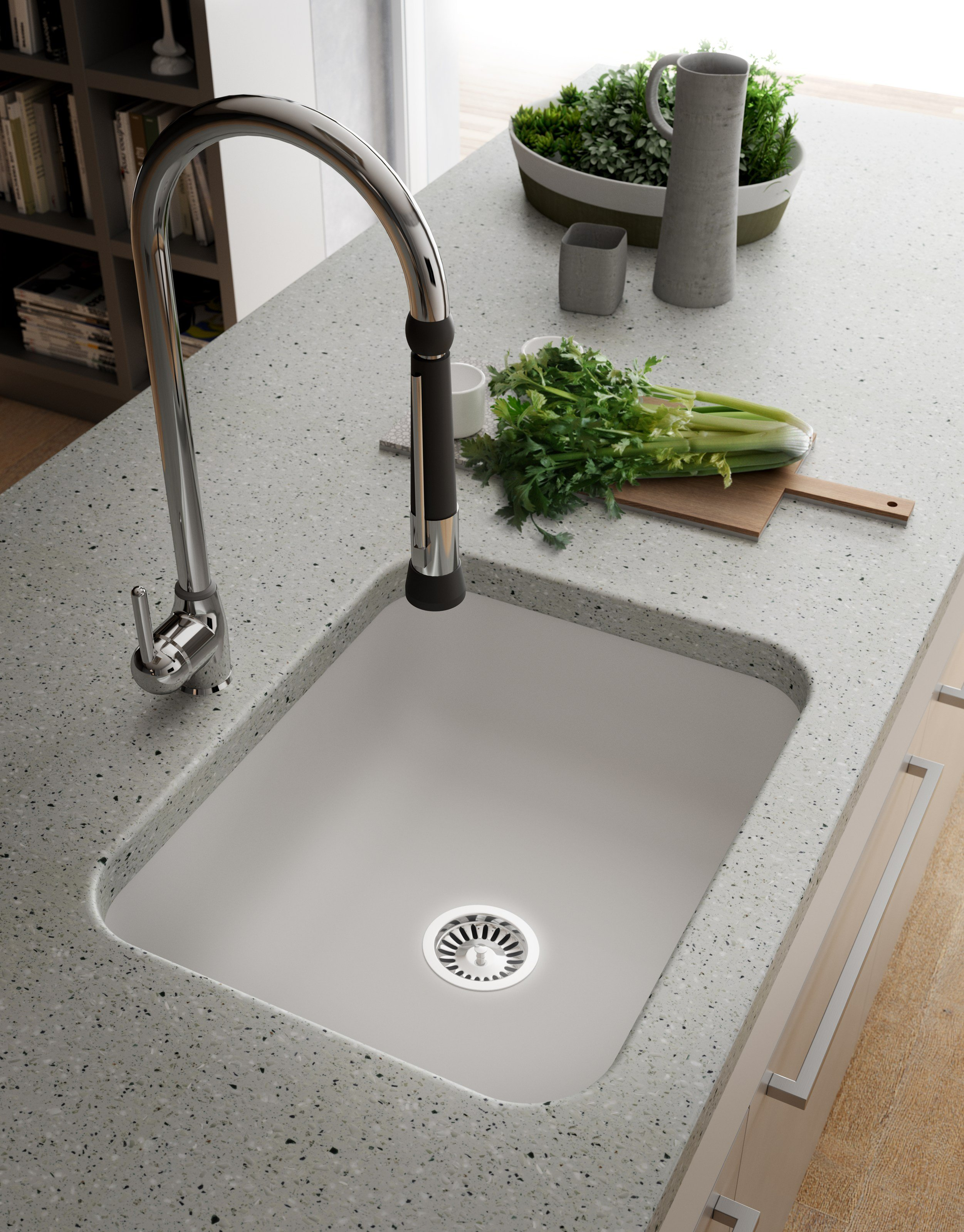 Corian Kitchen Sink