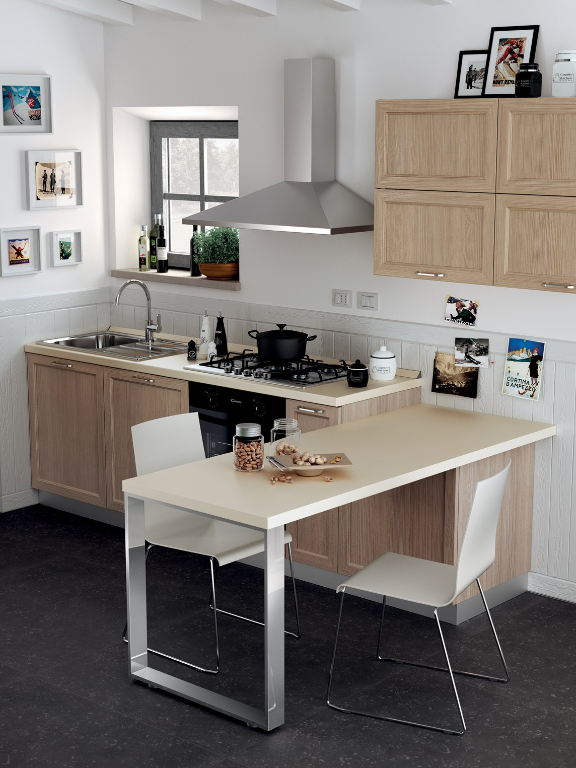 Cucina Scavolini Modello Sax. Sax Plenty Of Ideas To Make The Dream ...