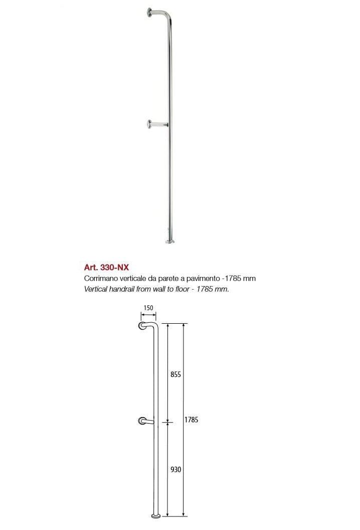 Awesome Vertical Grab Bar Contemporary - Bathtub for Bathroom ...
