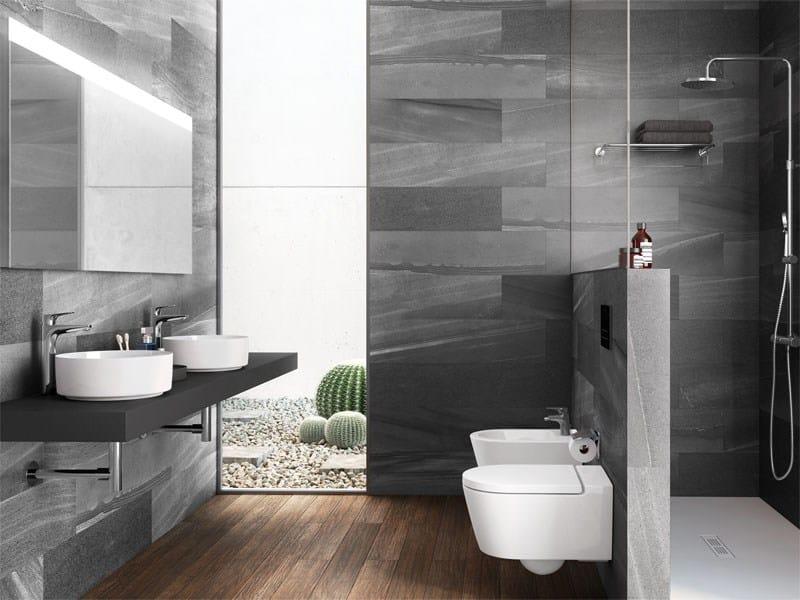Round washbasin inspira collection by roca sanitario - Aki espejos bano ...