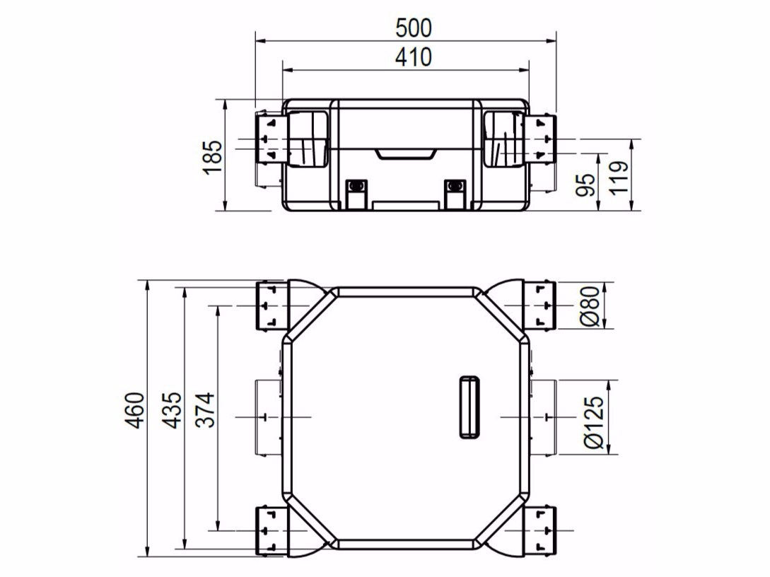 mechanical forced ventilation system ir-mv oz flat autorirsap