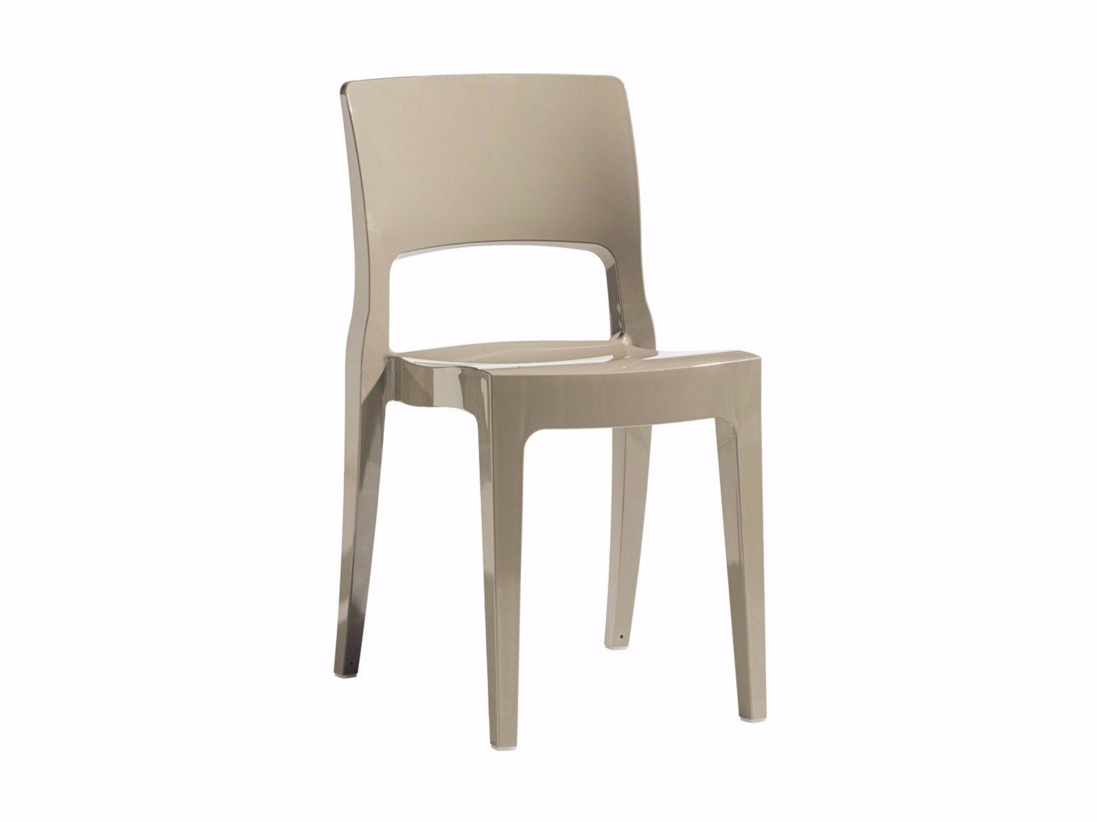 ISY   Chaise en technopolymère By SCAB DESIGN design Roberto Semprini