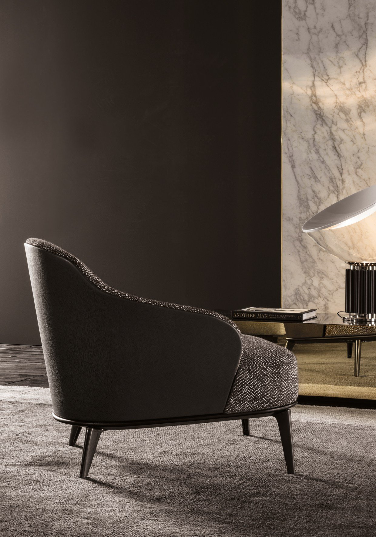 LESLIE ARMCHAIRS By Minotti