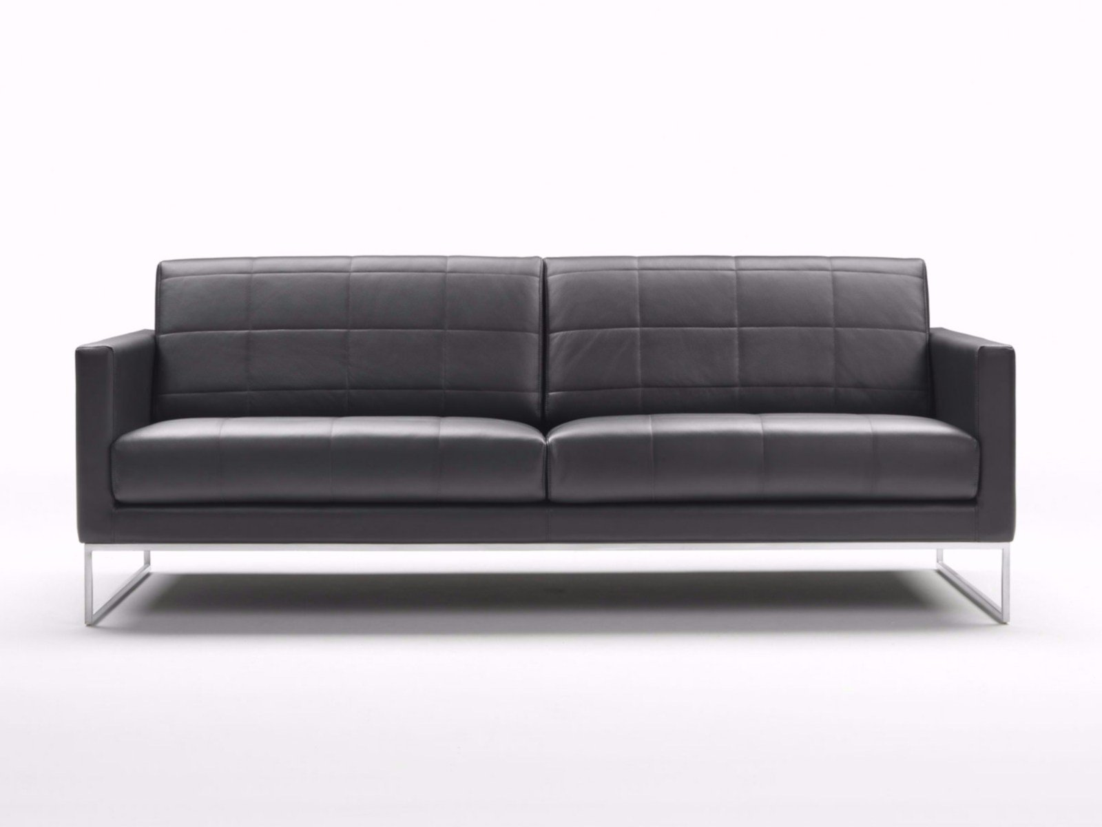 QUILT | Leather sofa By Tacchini design PearsonLloyd : quilted sofa - Adamdwight.com