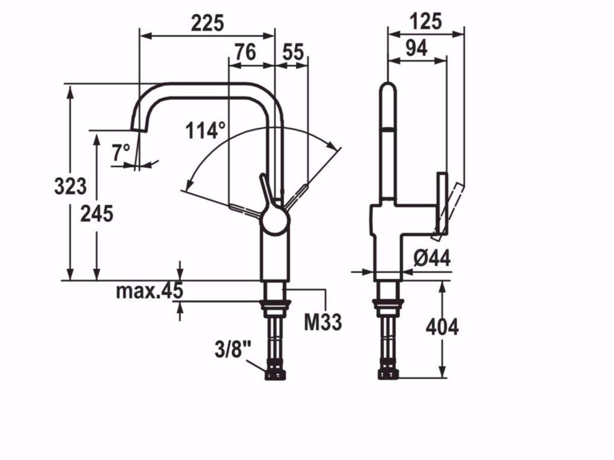 KWC LIVELLO | Kitchen mixer tap By KWC