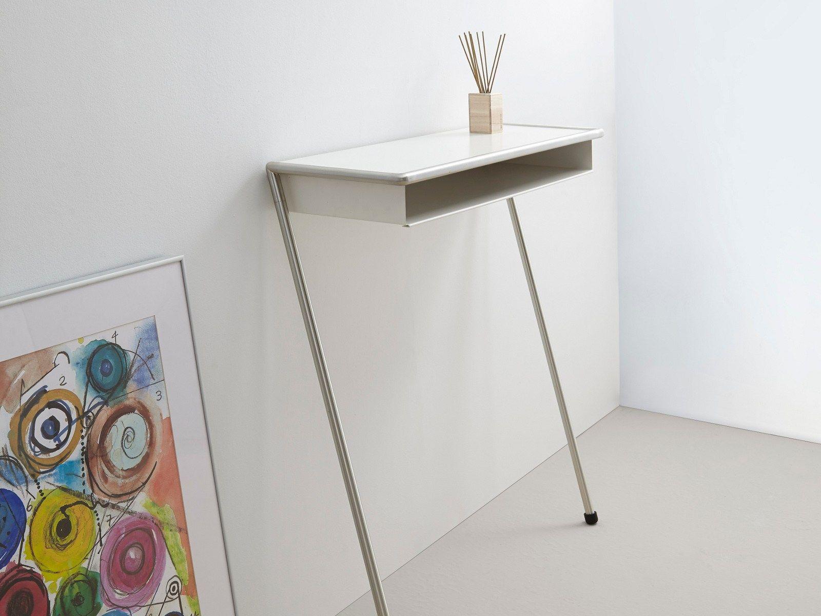 Rectangular Powder Coated Steel Console Table LOLA By MOX Design Beat  Glässer