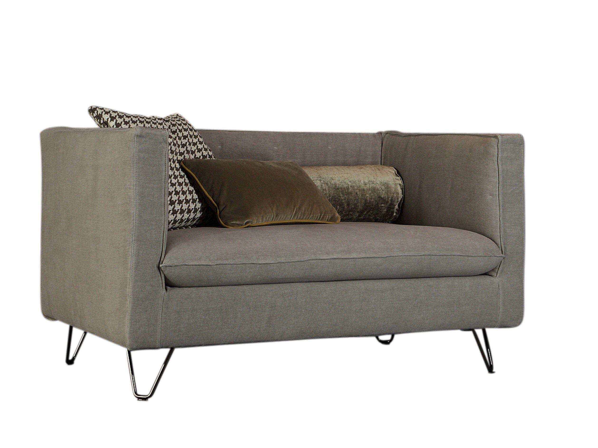 Kleines Sofa aus Stoff LOUIS XIV By Twils Design Silvia Prevedello