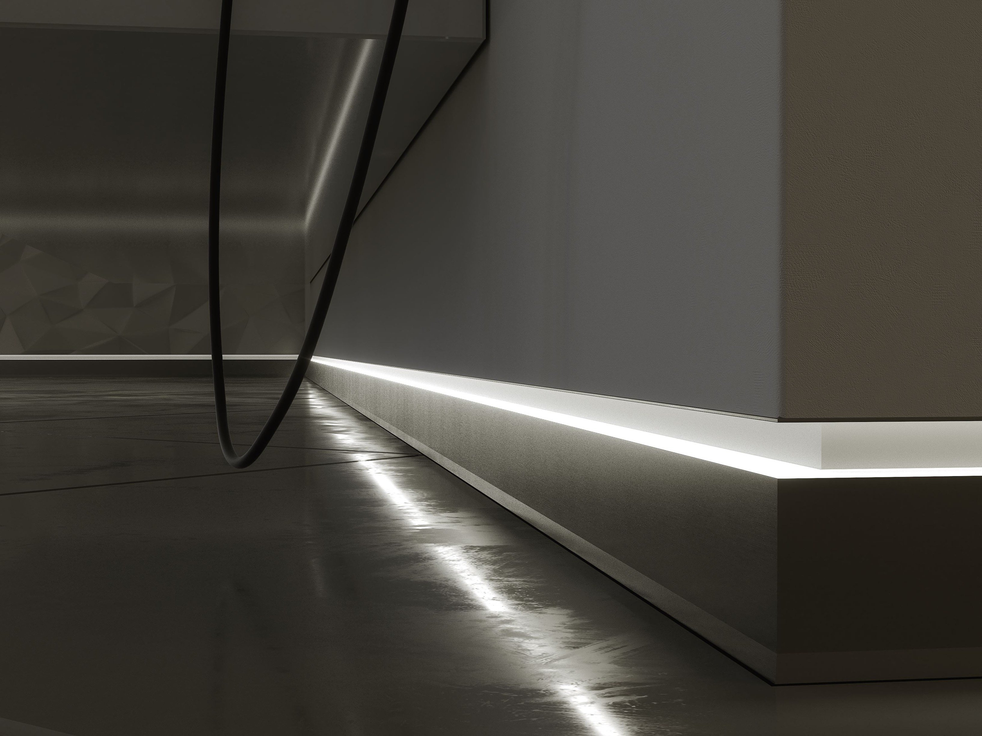Lumines Flaro Indoor Skirting Lighting By Lumines Lighting