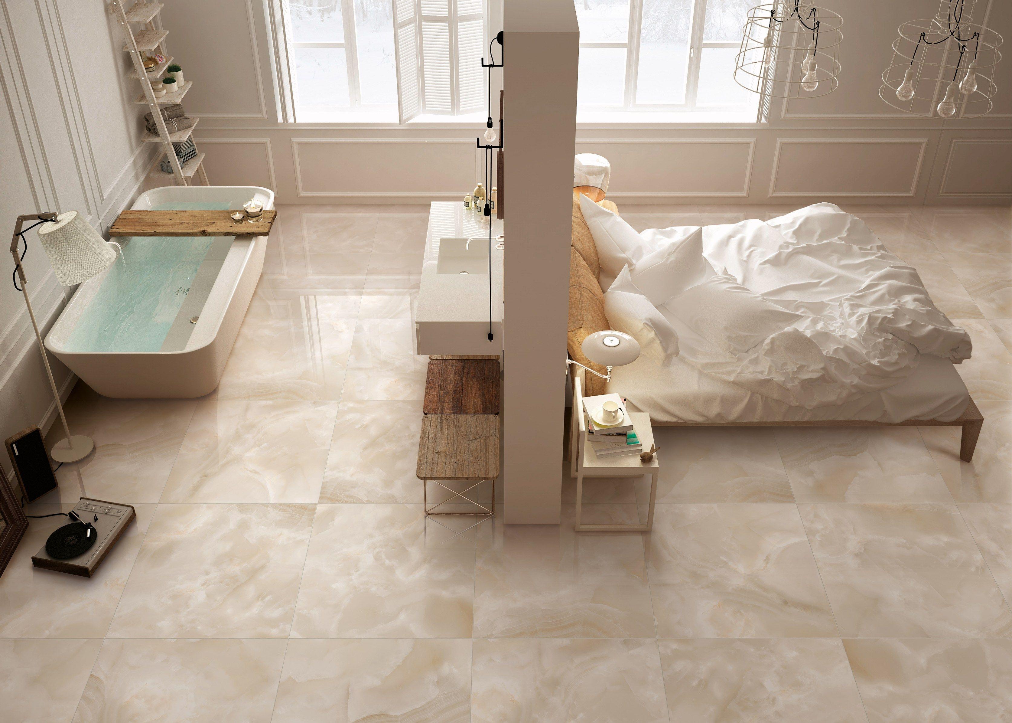 Pavimento In Gres Porcellanato Effetto Marmo Luxury By