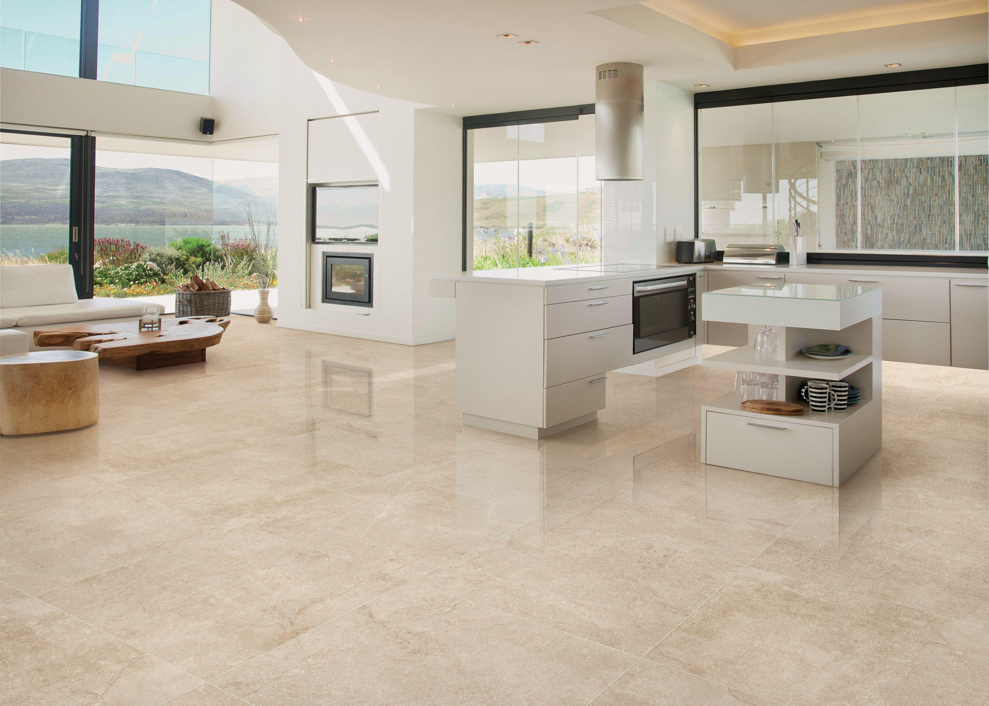 Pavimento in gres porcellanato effetto marmo luxury by for Ceramica rondine