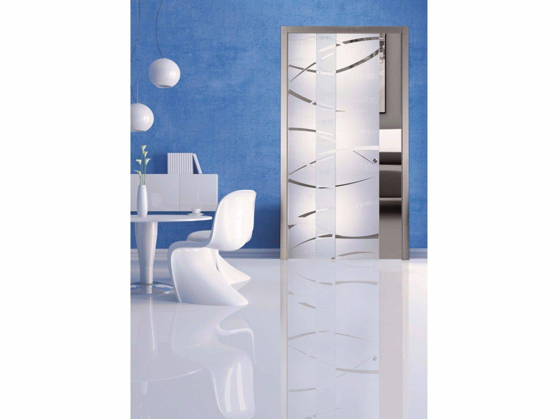 portes coulissantes galandage portes archiproducts - Porte Galandage En Verre