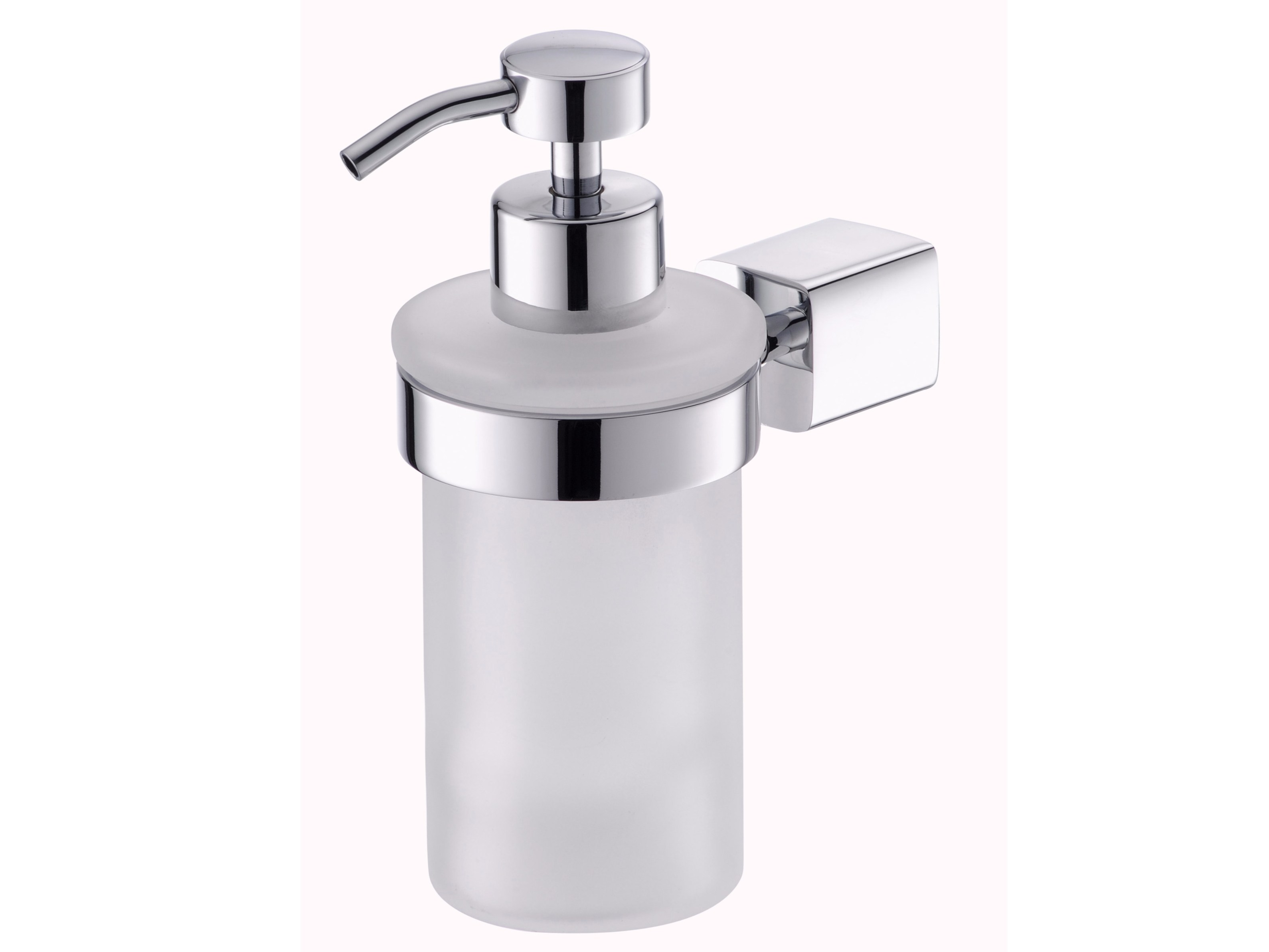 Satin Glass Liquid soap dispensers