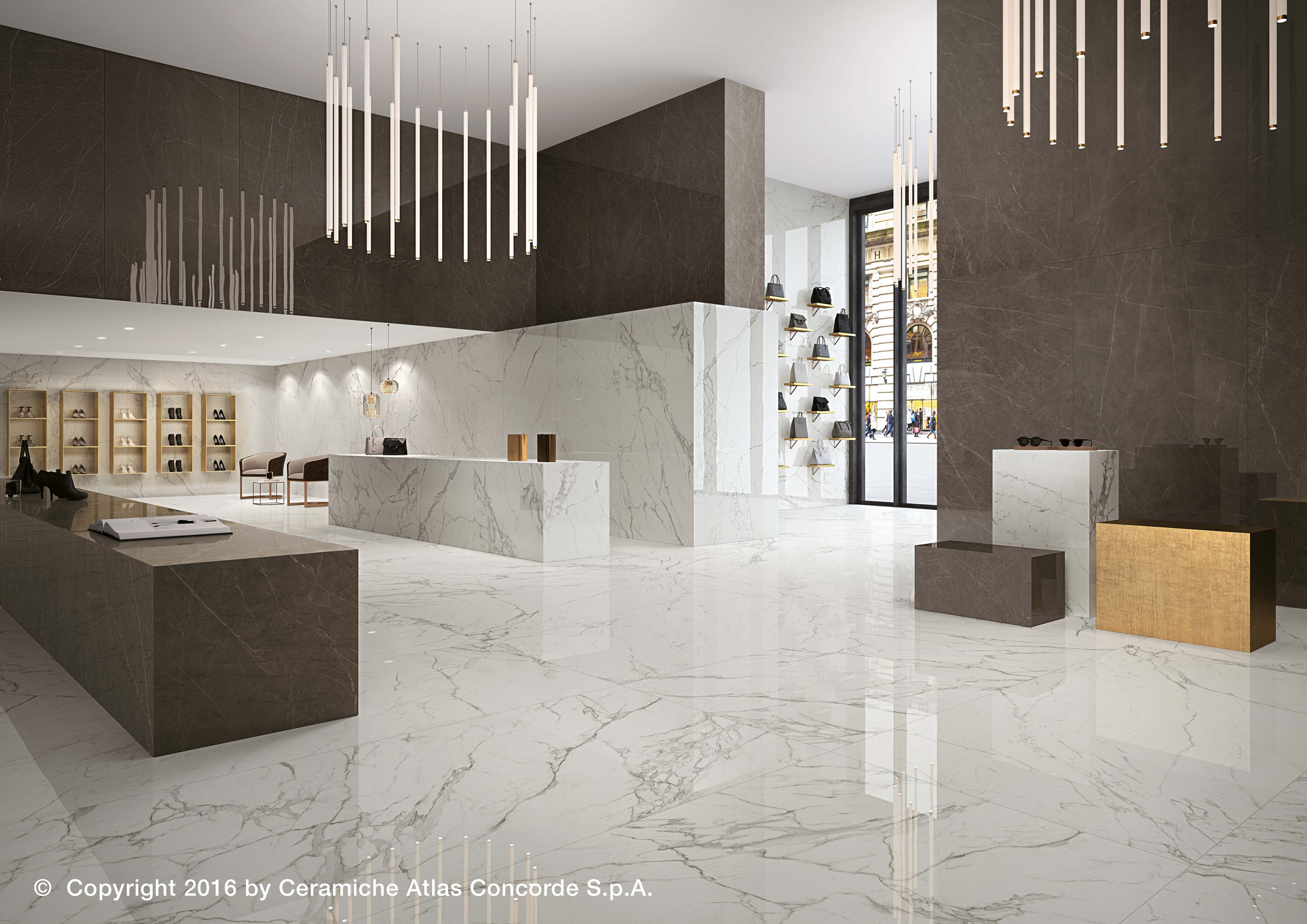 MARVEL XL | Porcelain Stoneware Wall Tiles Marvel XL Collection By Atlas  Concorde