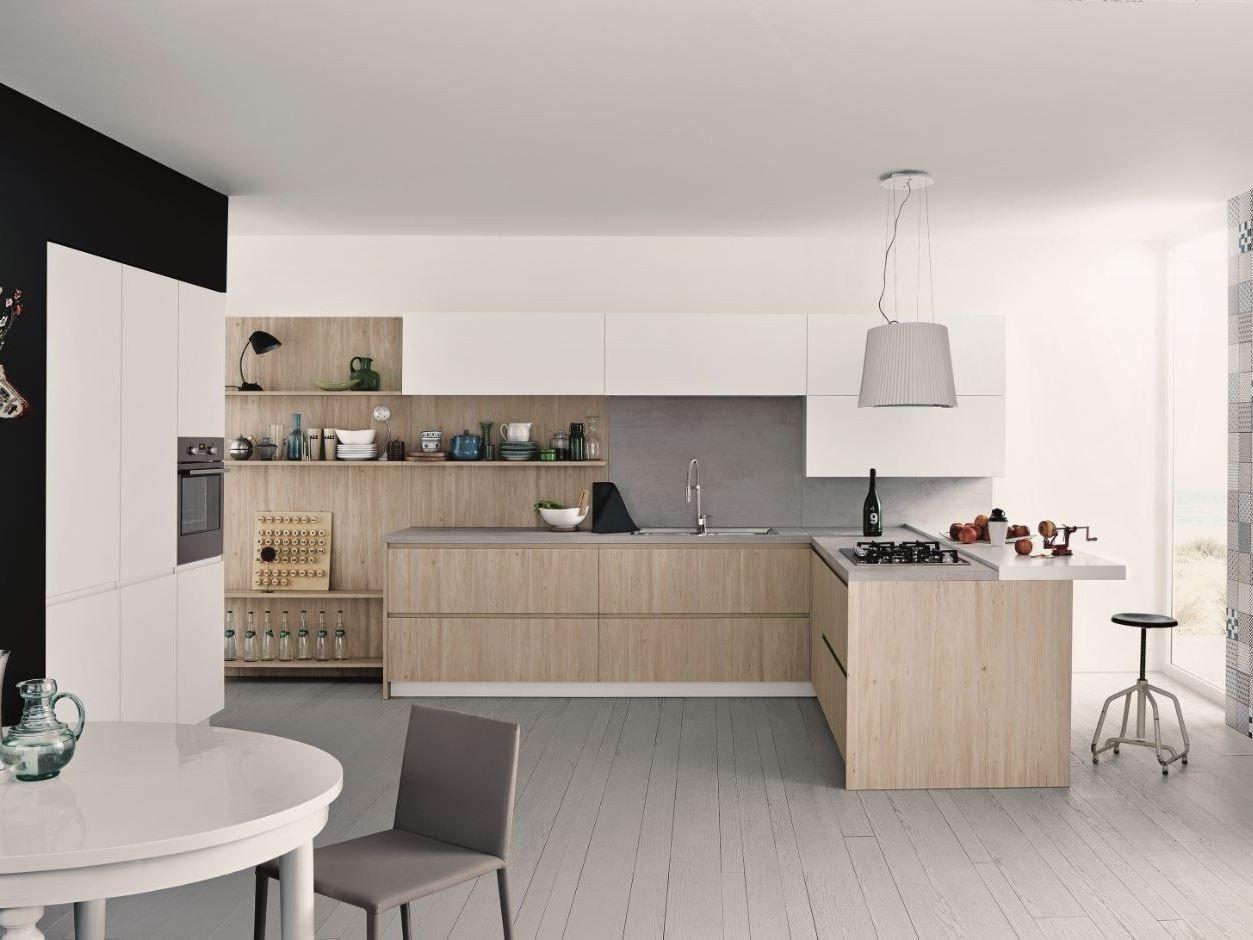 Kitchen With Peninsula NOA   COMPOSITION 3 By Cesar Arredamenti Design Gian  Vittorio Plazzogna