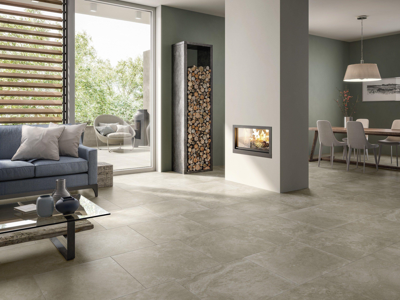 Porcelain stoneware wall floor tiles mineral spring by villeroy boch fliesen - Holzfliesen wohnzimmer ...