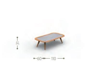 Dimensões MOON | Mesa de centro
