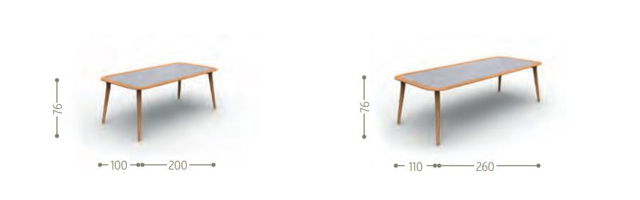 Dimensions MOON   Table