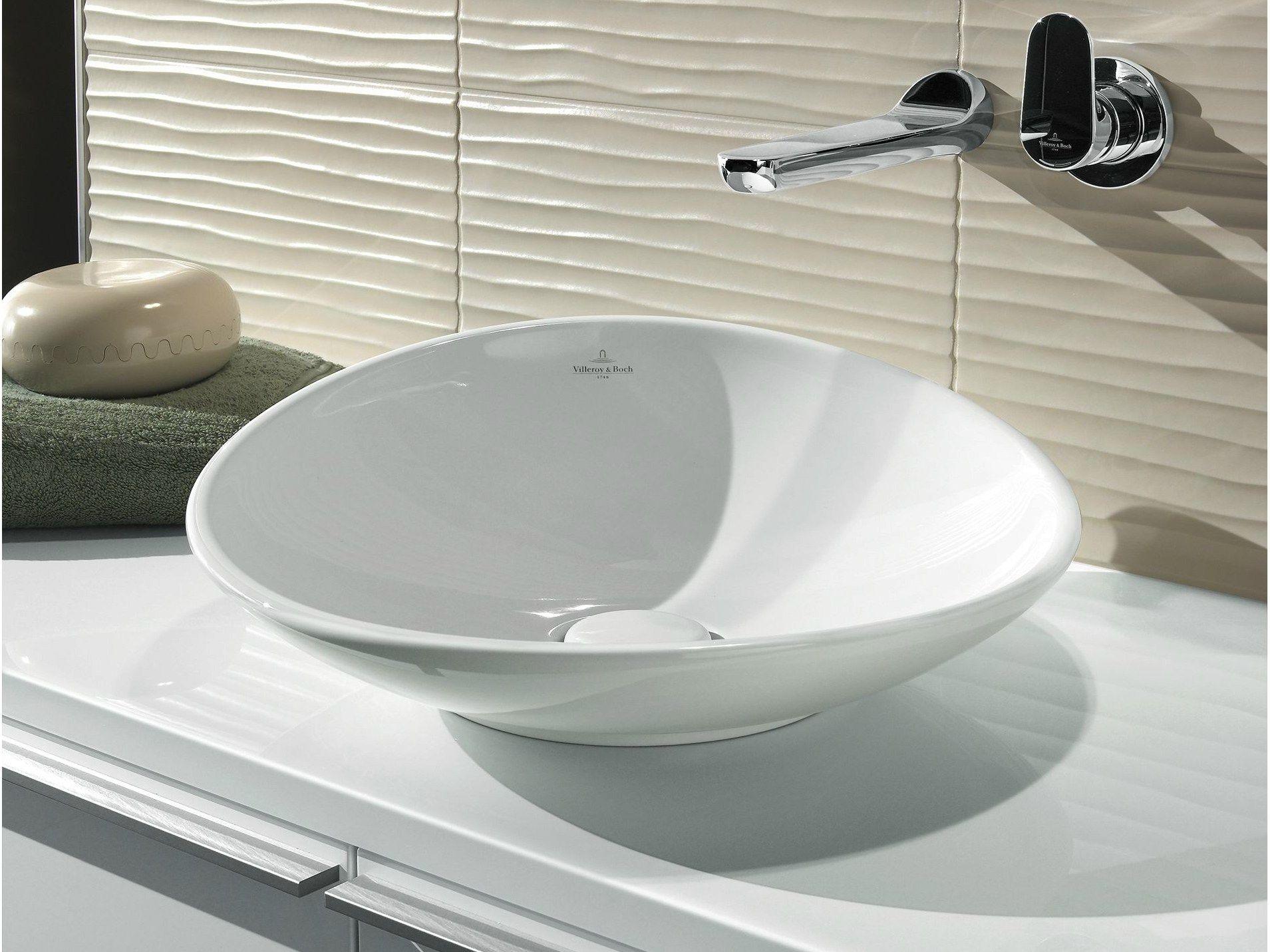 Villeroy und boch waschbecken rund  MY NATURE | Aufsatzwaschbecken By Villeroy & Boch Design Kai Steffan