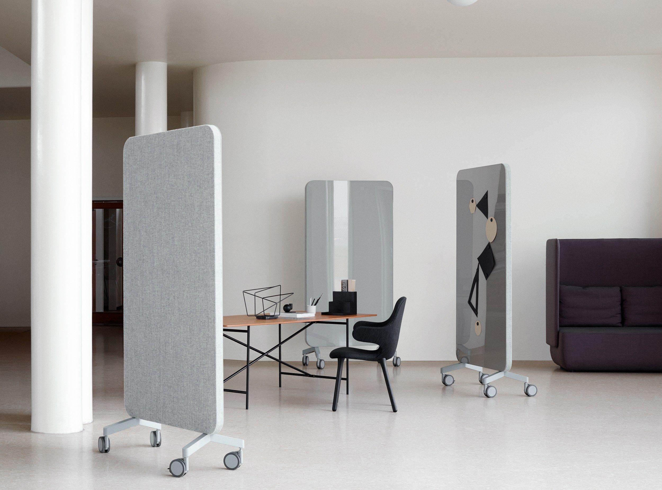 Lavagna per ufficio magnetica con ruote mood fabric mobile for Ufficio tumblr