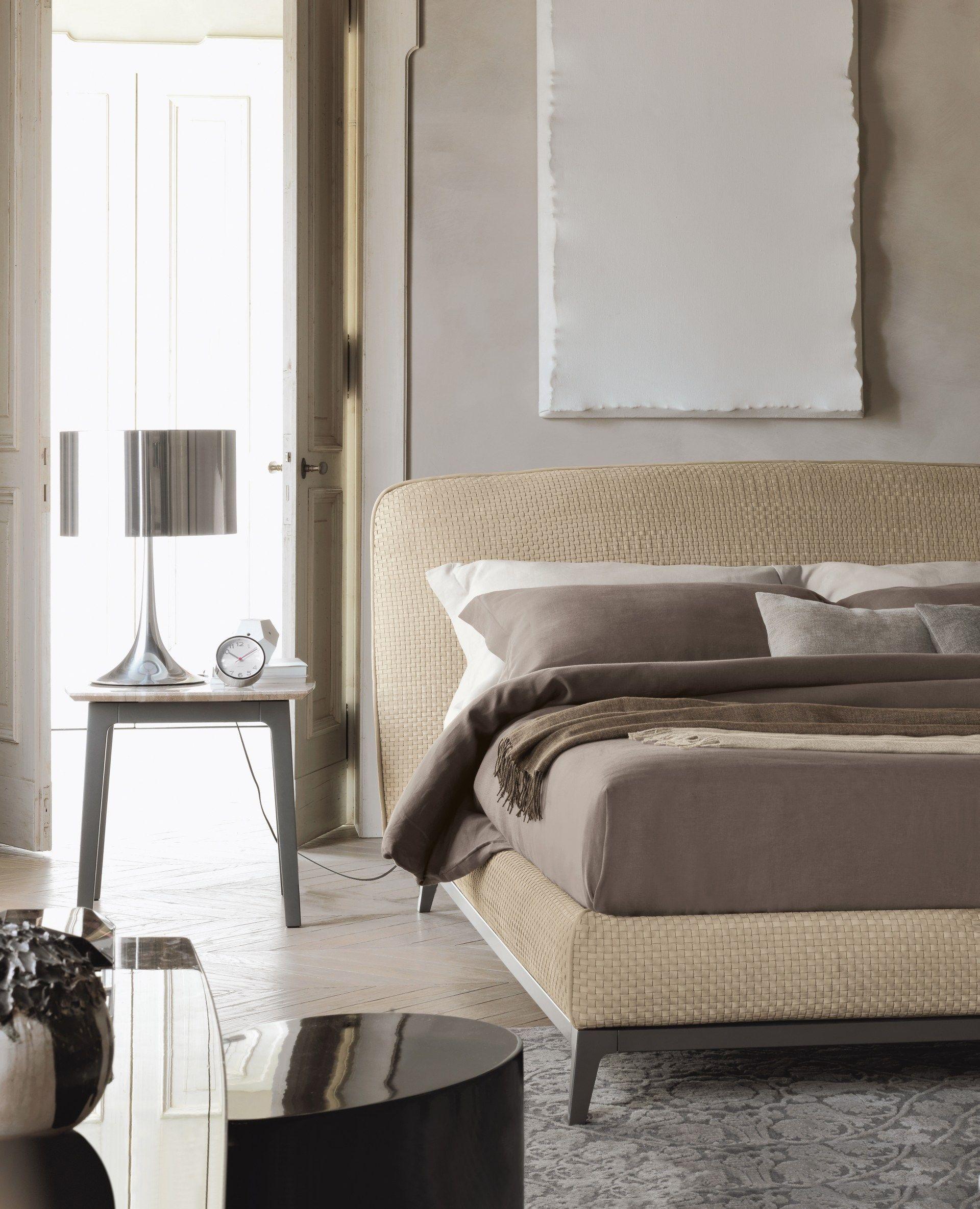 OLIVIER | Letto in pelle By Flou design Mario Dell\'Orto, Emanuela ...