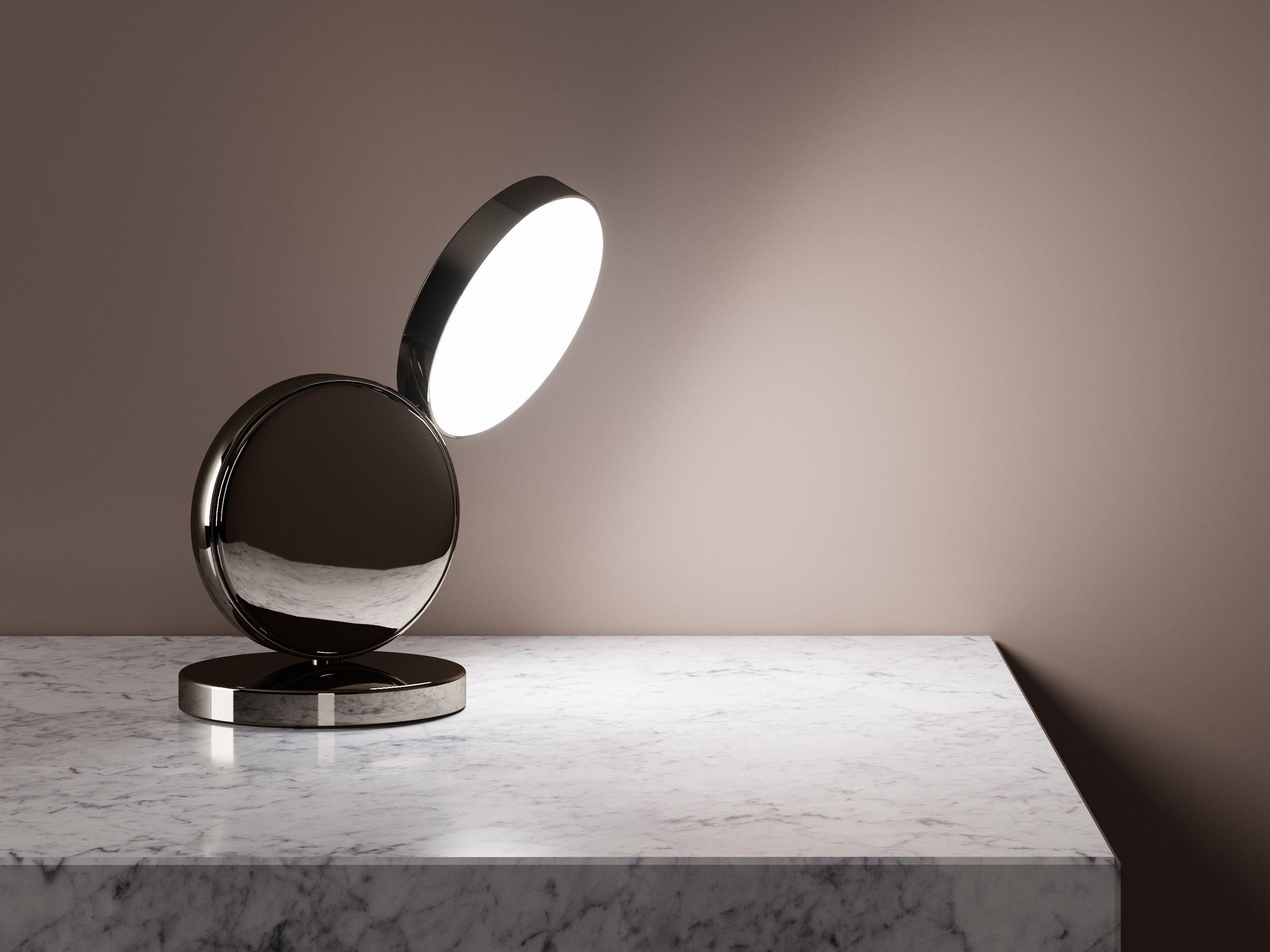 EQUATORE | Lampada da tavolo, Lampada da tavolo in metallo di ...