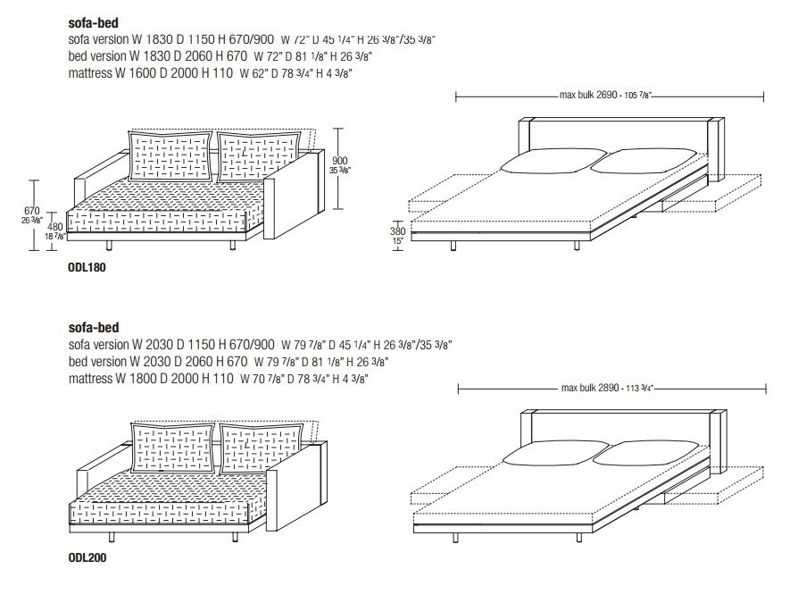 Oz sofa bed molteni c bruin blog - Divano letto oz molteni prezzo ...