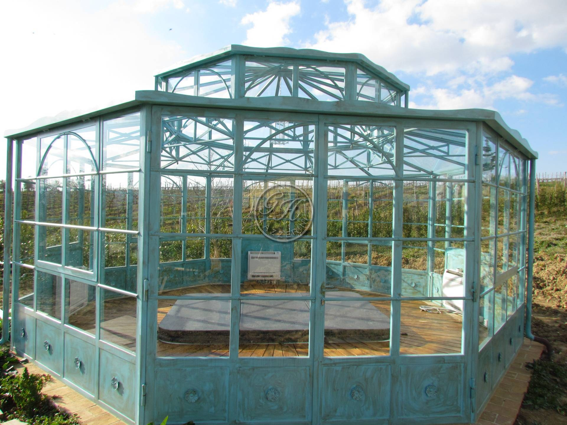 Latest giardino d inverno with giardino d inverno - Giardino d inverno in terrazza ...