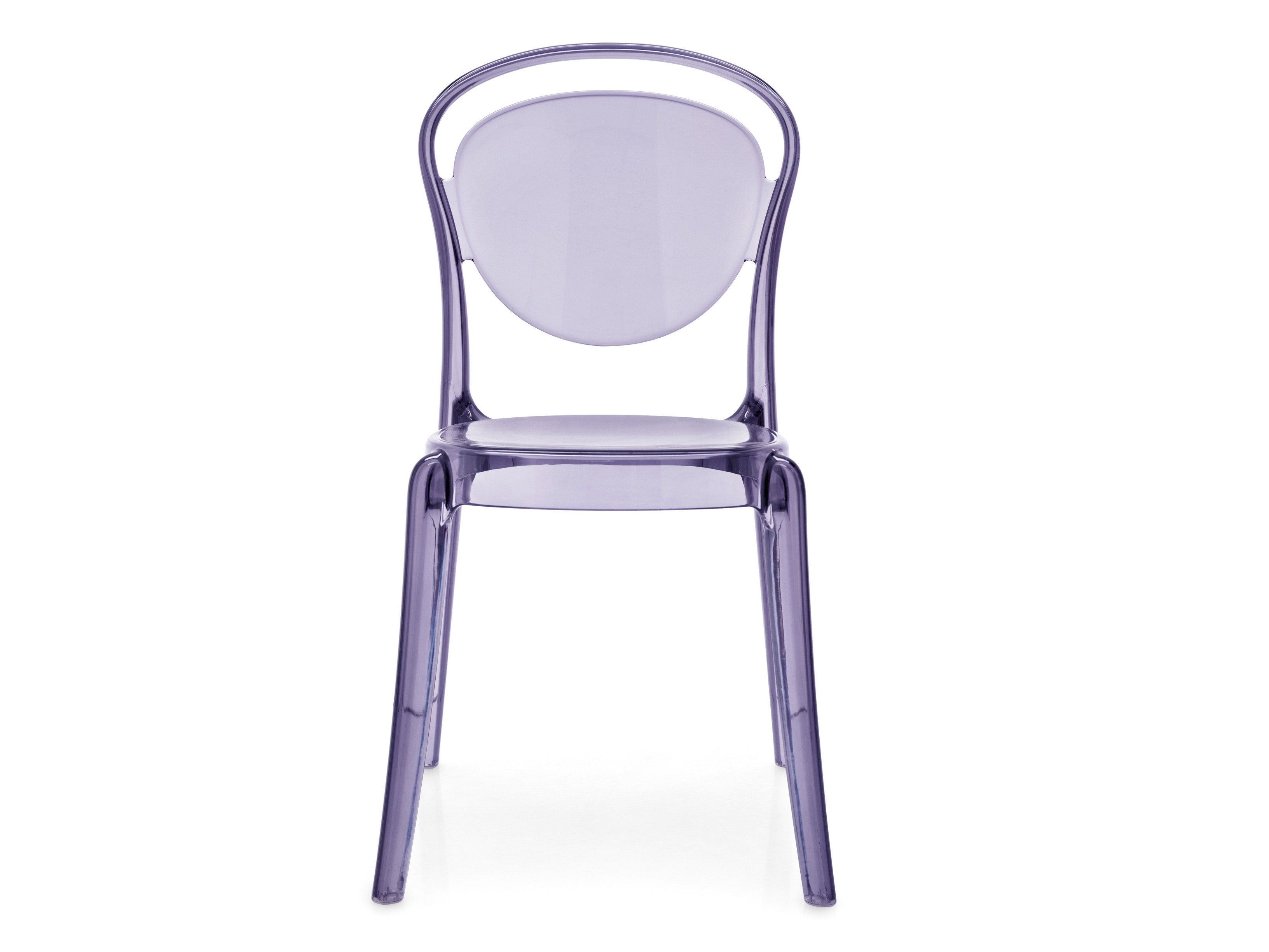 Stackable polycarbonate chair parisienne by calligaris design archirivolto - Sedia parisienne calligaris ...
