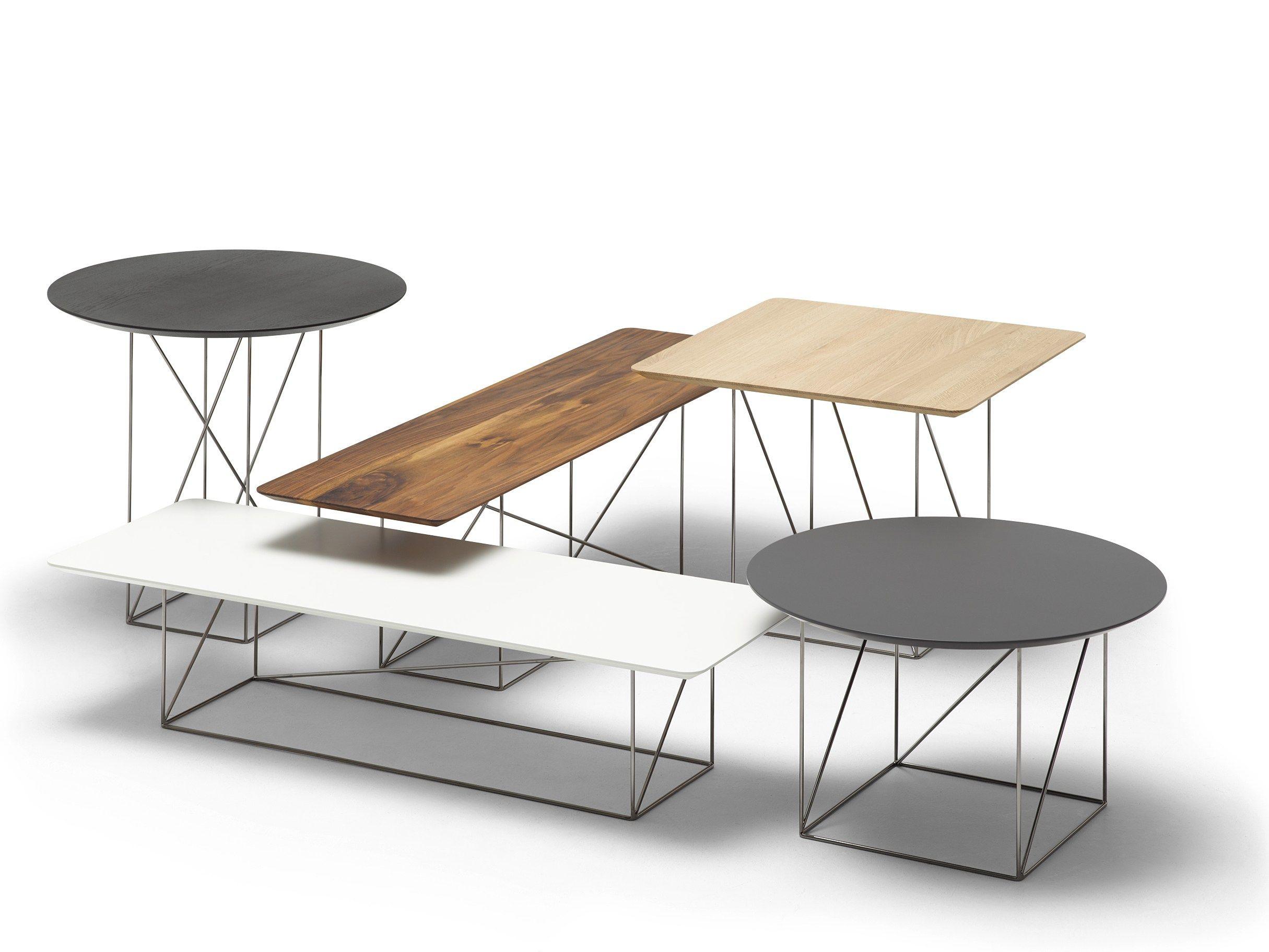 Pilotis Side Table By Cor Design Metrica