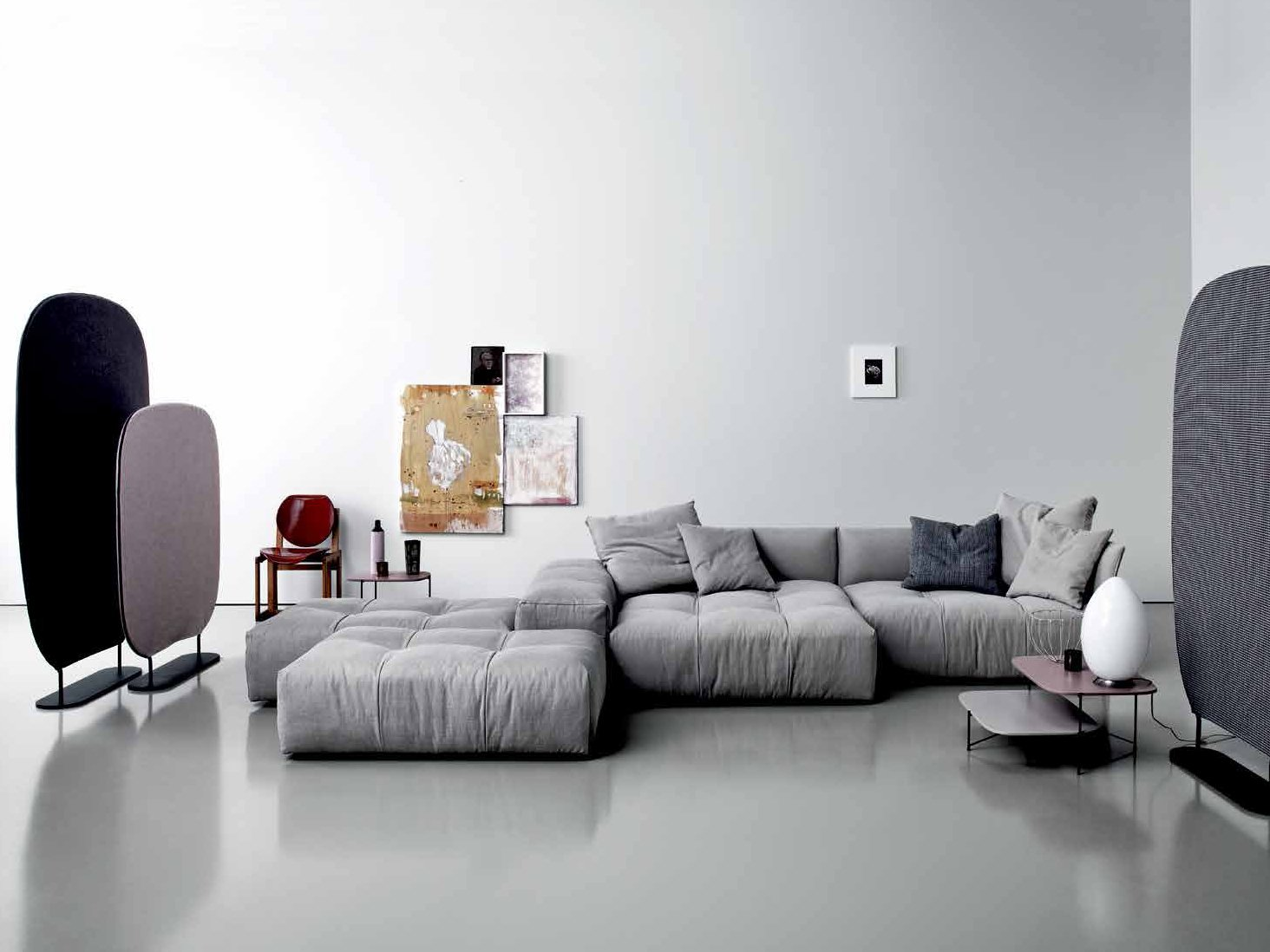 Pixel sectional sofa by saba italia design sergio bicego for Canape moderne design