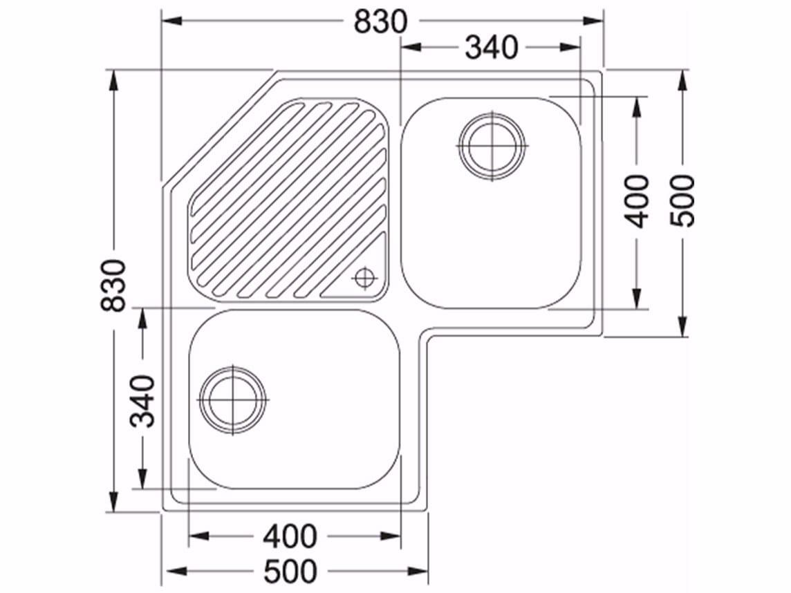 Dimensioni Lavello Doppio Cucina.Dimensioni Lavelli Cucina Cheap Lavelli Cucina With Dimensioni