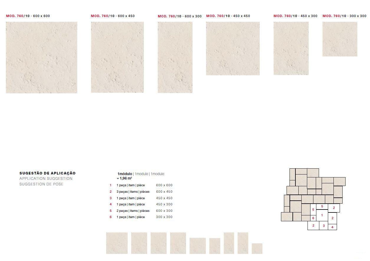 Dimensions of floor tiles