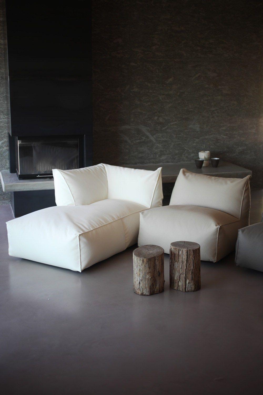- PUFFONE Corner Armchair By GART