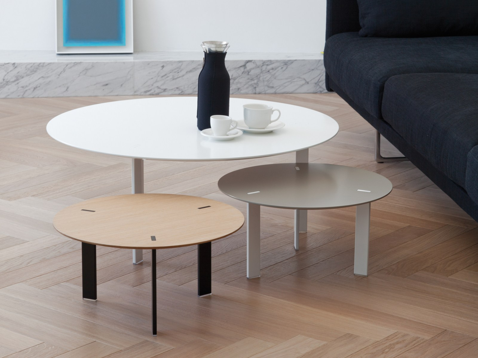 Home Trends And Design Retailers Round Coffee Table For Living Room Ryutaro By Viccarbe